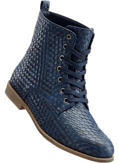 Stiefelette, bpc bonprix collection, dunkelblau