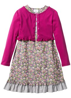 Kleid + Shirtjacke (2-tlg. Set), bpc bonprix collection