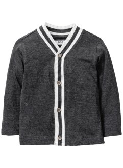 Shirtjacke, bpc bonprix collection, anthrazit meliert