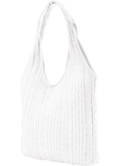 "Stricktasche ""Marie"", bpc bonprix collection, creme"