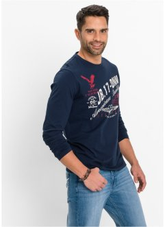 Langarmshirt Regular Fit, John Baner JEANSWEAR