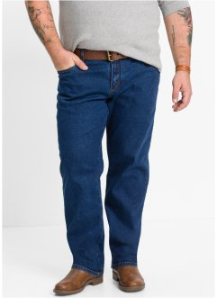 Stretch-Jeans Classic Fit Tapered, John Baner JEANSWEAR, dunkelblau