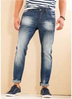Tapered Jeans, RAINBOW, darkblue used