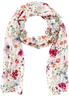 Schmaler Seidenschal floral, bpc bonprix collection