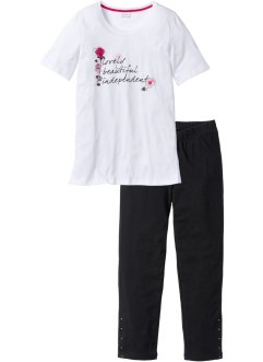 Pyjama mit 3/4-Leggings, bpc selection