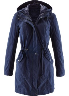 3 in1 Parka-Mantel, bpc bonprix collection, dunkelblau