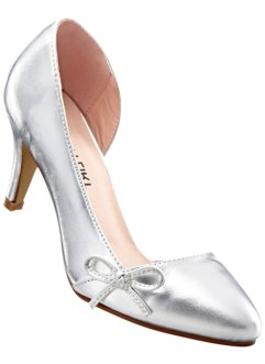 Pumps, BODYFLIRT, silber metallic