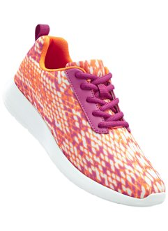 Freizeitschuh, bpc bonprix collection, orange/pink