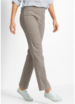 Schlupf-Stretchhose, bpc bonprix collection, taupe