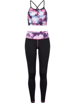 Sport-Top + Leggings (2-tlg.), bpc bonprix collection