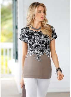 Blusa com estampa all-over