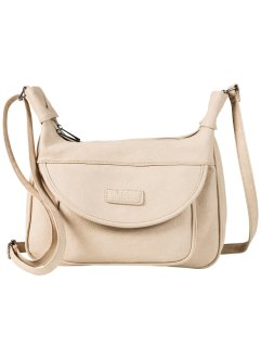 "Umhängetasche ""Basic"", bpc bonprix collection, beige"