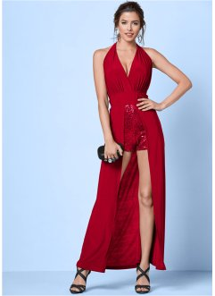 Kleid in Jumpsuit-Optik, BODYFLIRT boutique, rot
