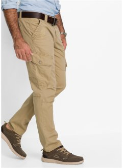 Cargohose Regular Fit, bpc bonprix collection, beige