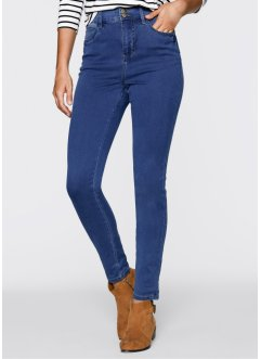 Power-Stretch-Push-Up-Jeans mit Highwaist, bpc bonprix collection, blue stone