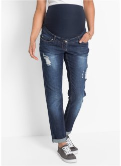 Umstandsjeans, Girlfriend, bpc bonprix collection, dark blue stone