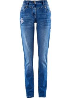 Premium-Stretch-Jeans mit T-400, STRAIGHT in blau für Damen von bonprix