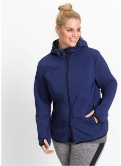 Kapuzensoftshelljacke, bpc bonprix collection