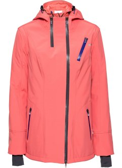 Stretch-Softshell-Jacke, bpc bonprix collection, koralle