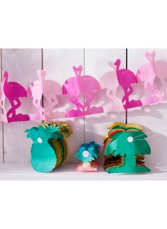 "Papier-Girlanden ""Party-Mix"" (4-tlg. Set), bpc living"