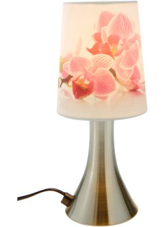 "Touch-Lampe ""Orchidee"", bpc living, rosa/silber/weiß"