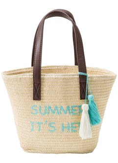 Kindertasche Strand, bpc bonprix collection, natur