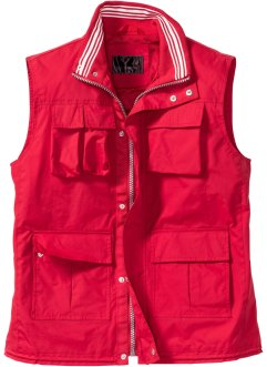 Outdoorweste Regular Fit, bpc selection, rot