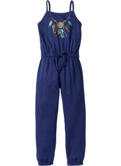 Jumpsuit, bpc bonprix collection, mitternachtsblau