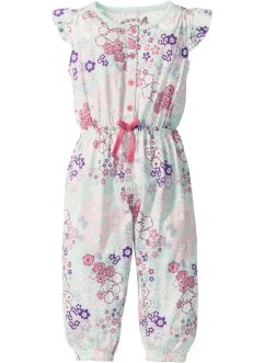 Jumpsuit, bpc bonprix collection, wollweiß bedruckt