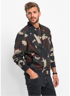 Blouson Regular Fit, RAINBOW, oliv bedruckt