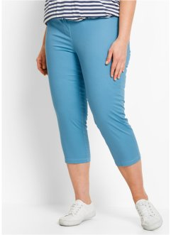 3/4-Stretch-Treggings, bpc bonprix collection, graublau