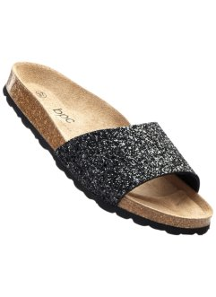 Pantolette, bpc bonprix collection, schwarz