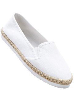 Espadrille, bpc bonprix collection, weiß