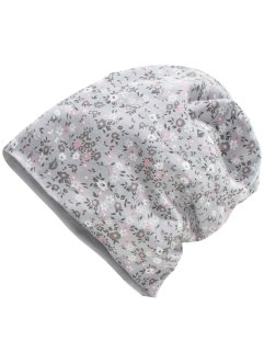 Beanie mit Blümchen, bpc bonprix collection