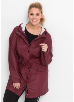 Funktions-Outdoorjacke mit Hut, bpc bonprix collection, ahornrot
