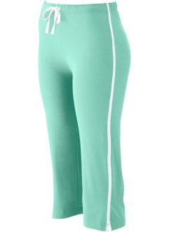 Stretch-Sportcapri, bpc bonprix collection, mentholblau
