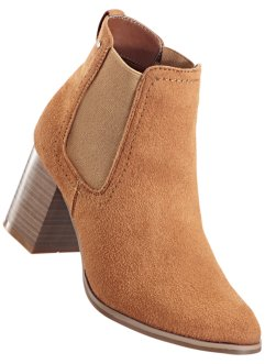 Stiefelette, bpc bonprix collection, cognac