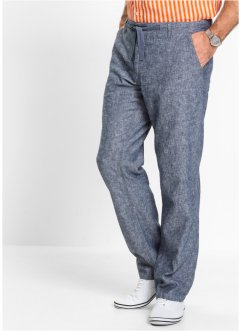 Leinen-Baumwollmix-Hose Regular Fit, bpc selection