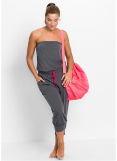 Bandeau-Overall, bpc bonprix collection, schiefergrau
