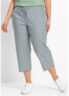 3/4-Leinenhose, bpc bonprix collection