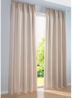 gardinen beige lilashouse. Black Bedroom Furniture Sets. Home Design Ideas