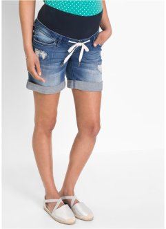 Umstands-Jeans-Shorts mit Bindeband, bpc bonprix collection