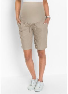 Umstandsshorts aus Leinen, bpc bonprix collection
