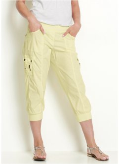 3/4-Cargohose mit Stretch, bpc bonprix collection