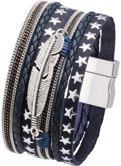 Armband mit Feder & Sternen, bpc bonprix collection