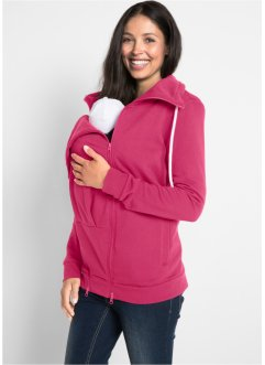 Umstands-Sweatjacke mit Babyeinsatz, bpc bonprix collection