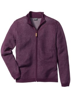 Strickjacke mit Stehkragen Regular Fit, bpc selection