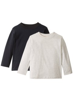 Langarmshirt (2er-Pack), bpc bonprix collection