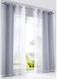 Gardine mit Farbverlauf (2er Pack), bpc living bonprix collection