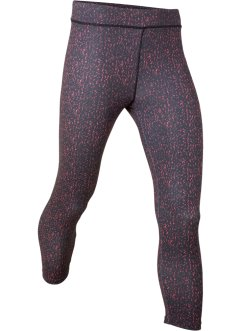 Gemusterte Sportleggings in 3/4-Länge, bpc bonprix collection
